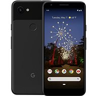 Google Pixel 3a XL, fekete - Mobiltelefon