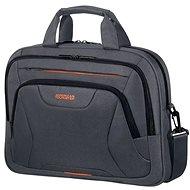 """American Tourister AT WORK LAPTOP BAG 15,6"""" Black/Orange"""