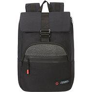 """American Tourister City Aim 14.1"""" Fekete - Laptop hátizsák"""