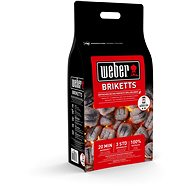 WEBER brikett, 4 kg - Brikett