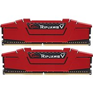 G.Skill 16 GB KIT DDR4 2400 MHz CL15 RipjawsV - Rendszermemória
