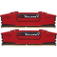 G.SKILL 8GB KIT DDR4 2400MHz CL15 RipjawsV rendszermemória - Rendszermemória