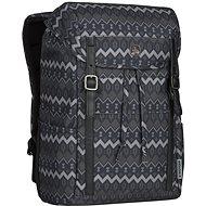 """WENGER COHORT 16"""", fekete natív minta - Laptop hátizsák"""