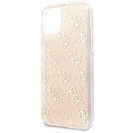 Guess 4G Glitter hátlap tok iPhone 11 készülékhez - arany - Mobiltelefon hátlap