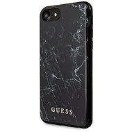 Guess Marble iPhone 8/SE 2020 készülékhez Black - Mobiltelefon hátlap