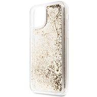 Guess Glitter Hearts iPhone 11 Pro készülékhez Gold (EU Blister) - Mobiltelefon hátlap