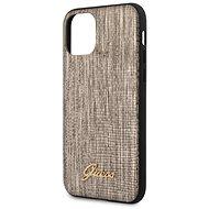 Guess Lizard iPhone 11 készülékhez Gold - Mobiltelefon hátlap