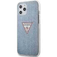 Guess PC/TPU Denim - Apple iPhone 12 Pro Max, Light Blue - Mobiltelefon hátlap