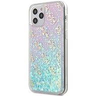 Guess 4G Liquid Glitter - Apple iPhone 12/12 Pro Iridescent - Mobiltelefon hátlap