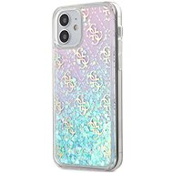 Guess 4G Liquid Glitter - Apple iPhone 12 Mini - Iridescent - Mobiltelefon hátlap
