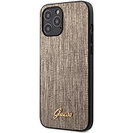 Guess Lizard Apple iPhone 12 Pro Max Gold - Mobiltelefon hátlap