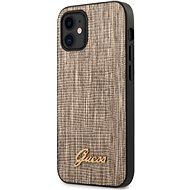 Guess Lizard Apple iPhone 12 Mini-Gold - Mobiltelefon hátlap