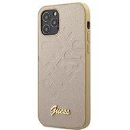 Guess Iridescent Love - Apple iPhone 12 Pro Max, Gold - Mobiltelefon hátlap