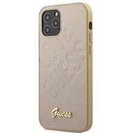 Guess Iridescent Love - Apple iPhone 12 Mini Gold - Mobiltelefon hátlap