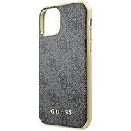 Guess 4G tok iPhone 11 készülékhez, szürke (EU Blister) - Mobiltelefon hátlap