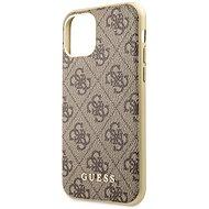 Guess 4G tok iPhone 11 készülékhez, barna (EU Blister) - Mobiltelefon hátlap