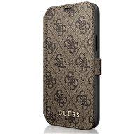 Guess 4G tok Apple iPhone 12/12 Pro-hoz, barna - Mobiltelefon tok