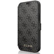 Guess 4G tok Apple iPhone 12/12 Pro-hoz, szürke - Mobiltelefon tok