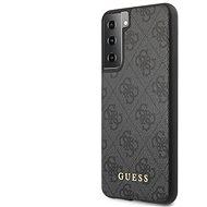 Guess 4G hátlap a Samsung Galaxy S21+ készülékhez szürke
