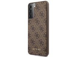 Guess 4G hátlap a Samsung Galaxy S21 + készülékhez barna