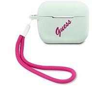 Guess Vintage szilikon tok Airpods Pro készülékhez kék - Fülhallgató tok