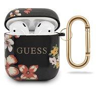 Guess Apple Airpods szilikon tok 1/2 Floral N.4 - Fülhallgató tok