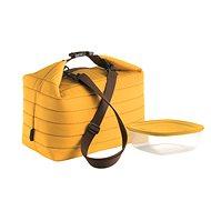 Guzzini Thermo táska dobozzal, sárga színű - Thermo táska