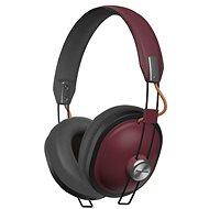 Panasonic RP-HTX80B piros - Mikrofonos fej-/fülhallgató