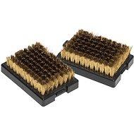 OUTDOORCHEF Nagy méretű sárgaréz kefe pótfejek (2 db) - Grill kiegészítők