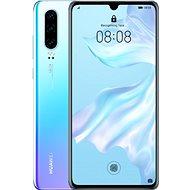 Huawei P30 - fehér színátmenet - Mobiltelefon