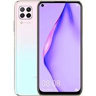 Huawei P40 Lite - rózsaszín színátmenet - Mobiltelefon