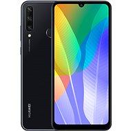 Huawei Y6p - fekete - Mobiltelefon