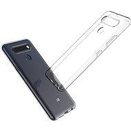 Mobiltelefon hátlap Hishell TPU LG K51S-hez átlátszó - Kryt na mobil
