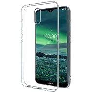 Hishell TPU a Nokia 2.3 készülékhez, átlátszó - Mobiltelefon hátlap