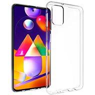 Mobiltelefon hátlap Hishell TPU a Samsung Galaxy M31s  készülékhez átlátszó - Kryt na mobil