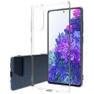 Hishell TPU Samsung Galaxy S20 FE-hez átlátszó - Mobiltelefon hátlap