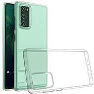 Hishell TPU a Samsung Galaxy S20 készülékhez átlátszó - Mobiltelefon hátlap