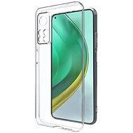 Hishell TPU a Xiaomi Mi 10T Pro készülékhez, átlátszó - Mobiltelefon hátlap
