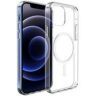 Hishell Magsafe Magnetic TPU iPhone 12/12 Pro-hoz átlátszó - Mobiltelefon hátlap