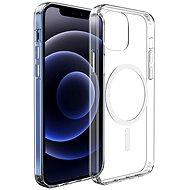 Hishell Magsafe mágneses TPU iPhone 12 Pro Max Clear készülékhez - Mobiltelefon hátlap
