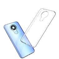 Hishell TPU - Nokia 3.4 áttetsző - Mobiltelefon hátlap