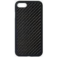 Hishell Premium Carbon tok iPhone 7/8/SE (2020) készülékhez - fekete - Mobiltelefon hátlap