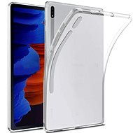 Hishell TPU a Samsung Galaxy Tab S7 + készülékhez átlátszó - Tablet tok