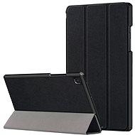 Hishell védő flip tok Samsung Galaxy Tab A7 10.4 fekete - Tablet tok