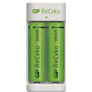 GP Eco E211 + 2× AA ReCyko 2000 - Akkumulátortöltő