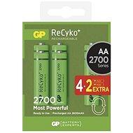 Akkumulátor GP ReCyko 2700 (AA) 4+2db - Nabíjecí baterie