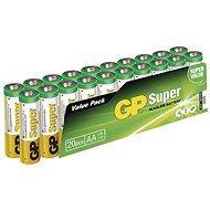 GP Super Alkaline LR6 (AA) 20 db buborékfóliában - Eldobható elem