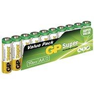 Eldobható elem GP Super Alkaline LR6 (AA) 10 db buborékfóliában - Jednorázová baterie