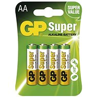 GP Super Alkaline LR6 (AA) 4 db - bliszter csomagolásban - Eldobható elem