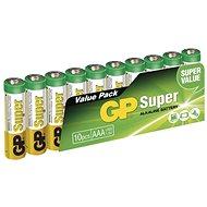 GP Super Alkaline LR03 (AAA) 10 db buborékfóliában - Eldobható elem